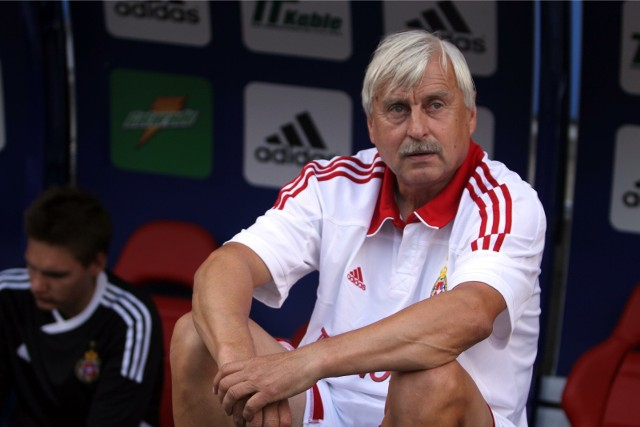 Kazimierz Kmiecik w pamiętnym meczu z Widzewem strzelił trzy bramki