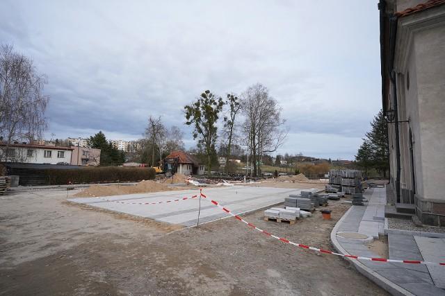 Sprawdzamy postępy prac rewitalizacyjnych centrum Sępólna Krajeńskiego