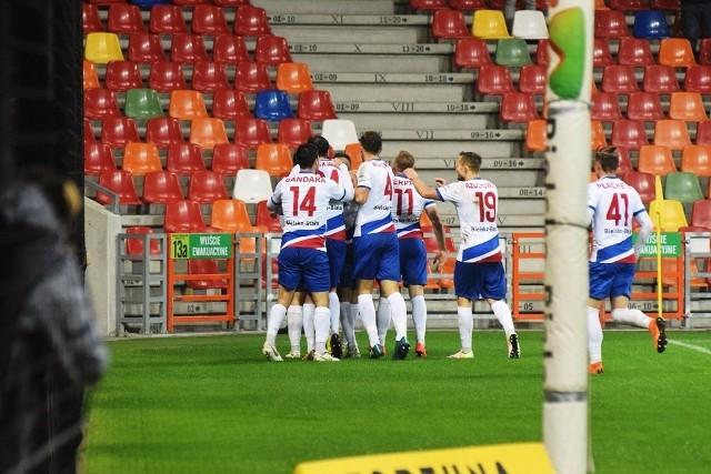 Piłkarze Podbeskidzia wygrali dopiero drugi mecz u siebie w tym sezonie
