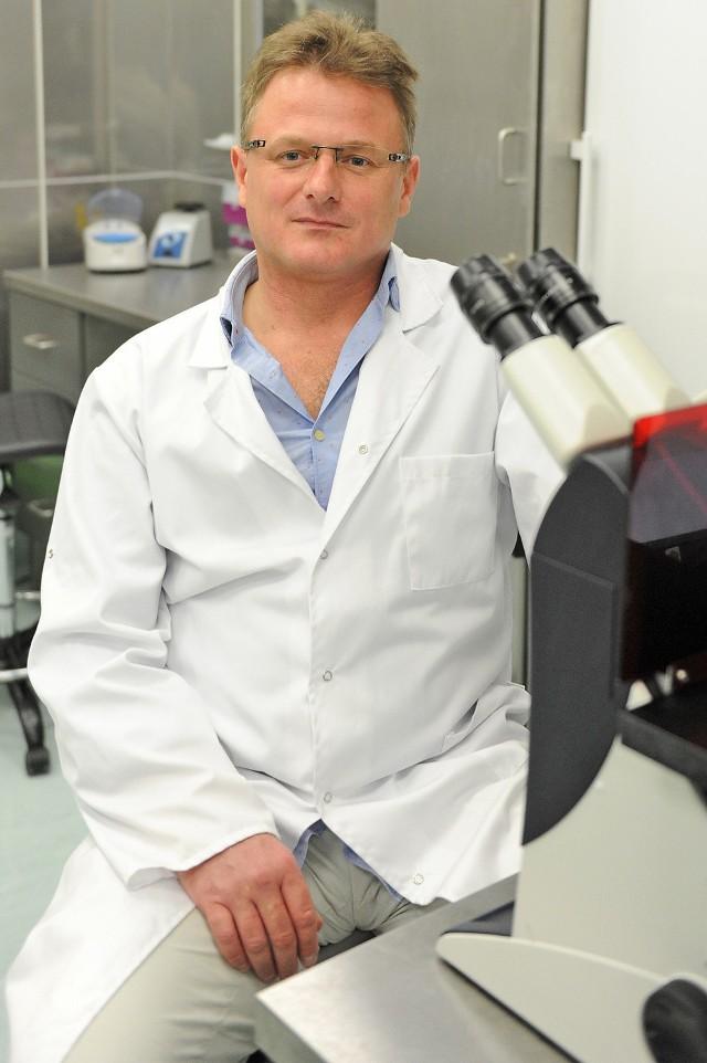Maciej Wiznerowicz odkrył nowe podtypy raka żołądka