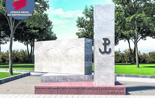 Pomnik ma stanąć w tym miejscu. Kombatanci cieszą się, że tego doczekali.