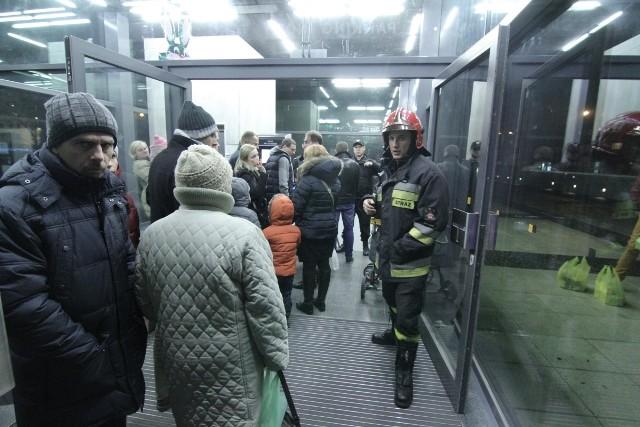Wrocław, ewakuacja parkingu pod placem Nowy Targ