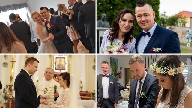 """Wszystkie śluby bohaterów programu """"Rolnik szuka żony"""" znajdziesz w galerii. Zobaczcie, jak wyglądały wesela"""