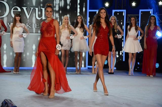 Paulina Maziarz (w środku, z prawej) została Miss Kozienic i awansowała do wielkiego finału.
