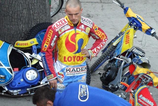 Dawid Stachyra walczył w ub.r. na grudziądzkim torze, w barwach Lotosu Wybrzeże. W tym sezonie broni barw macierzystego klubu z Lublina
