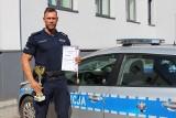Inowrocław. Policjant kulturysta z Komendy Powiatowej Policji w Inowrocławiu na podium ogólnopolskich zawodów. Zdjęcia