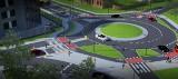 Przebudują fragment ulicy Obywatelskiej w Łodzi, powstaną dwa ronda i nowe ścieżki rowerowe, chodniki i piękne rabaty