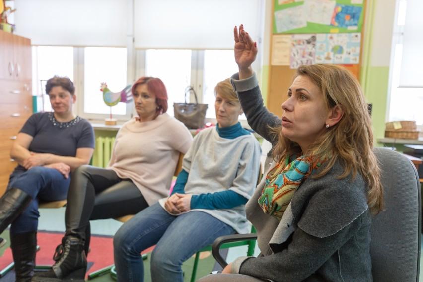 W 2017 roku rodzice dzieci z zespołu szkół na Antoniuku...