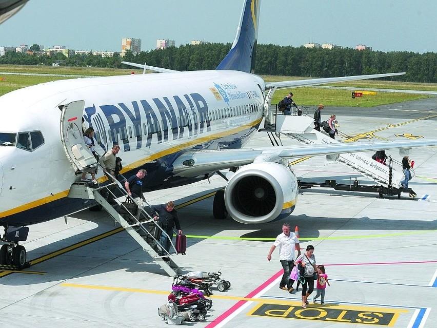 Chętnych, by latać samolotami z Bydgoszczy nie brakuje. To...