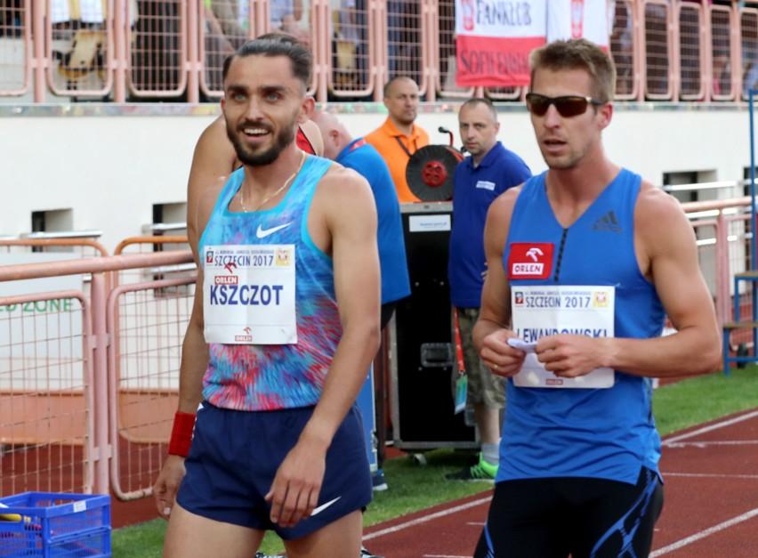 Adam Kszczot i Marcin Lewandowski
