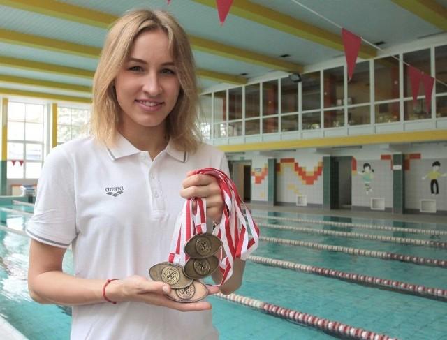 Paulina Nogaj jest bardzo zadowolona ze swojego występu na mistrzostwach Polski juniorów.