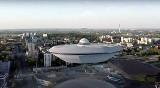 Spodek w Katowicach odleciał na spotkanie z filiżanką WIDEO Oto katowicka Odyseja kosmiczna. Reżyseria: Radek Grec