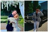 """Sylwia Peretti z programu """"Królowe życia"""" wzięła ślub. Dla młodej pary zaśpiewał Kordian z Sądecczyzny [WIDEO]"""