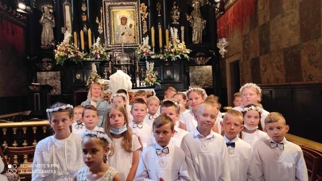 Dzieci z Potworowa miały pielgrzymkę do Częstochowy.