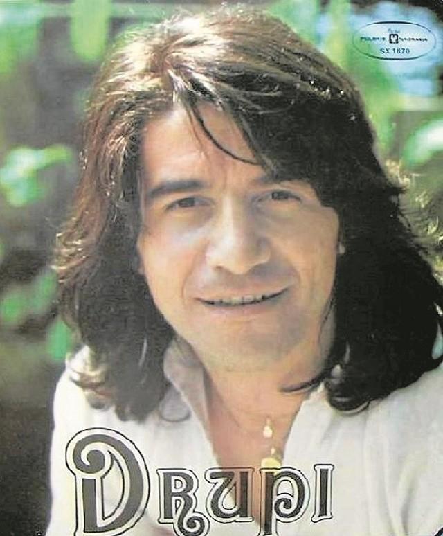 """Drupi twierdzi, że śpiewanie o miłości nigdy mu się nie znudzi. Na zdjęciu okładka jego """"polskiej płyty"""" z 1978 roku"""
