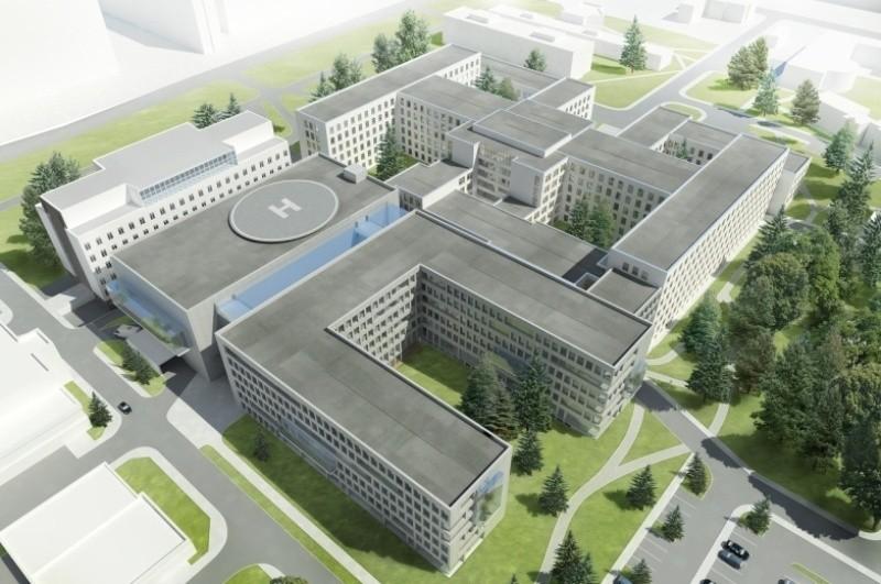 Tak według pracowni Arch-Deco z Gdyni będzie wyglądał białostocki szpital kliniczny.