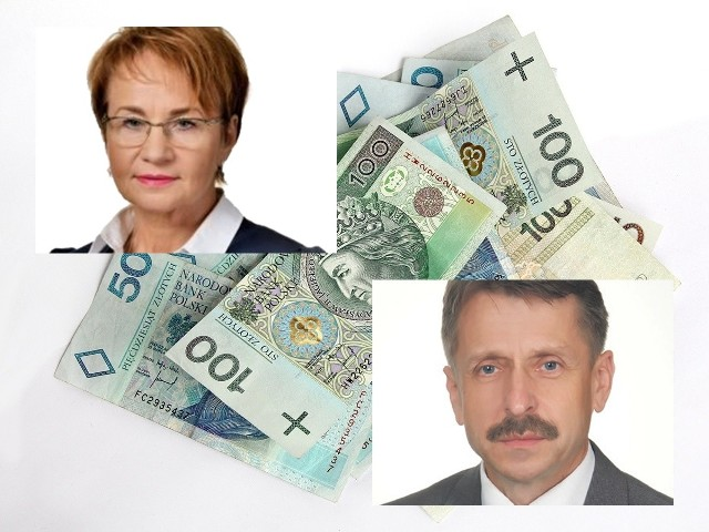 Starosta Maria Gubała i Mirosław Wędrychowicz, burmistrz Biecza, będą zarabiać najwięcej z powiatowych włodarzy, po 10 620 zł