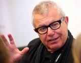 Daniel Libeskind, urodzony w Łodzi światowej sławy architekt, na konferencji w łódzkiej ASP