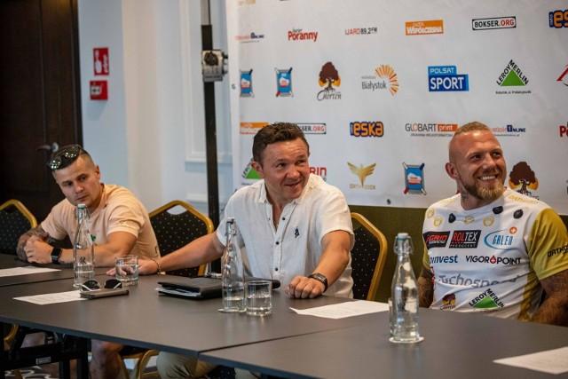 Konferencja zapowiadająca Białystok Chorten Boxing Show 4