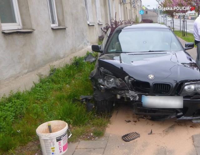 Do wypadku doszło 3 maja na ulicy Warszawskiej w Częstochowie
