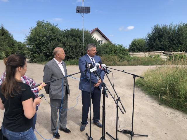 W środę o tej inwestycji mówili, na specjalnej plenerowej konferencji, prezydent Koszalina Piotr Jedliński oraz przewodniczący Rady Miejskiej Jan Kuriata.
