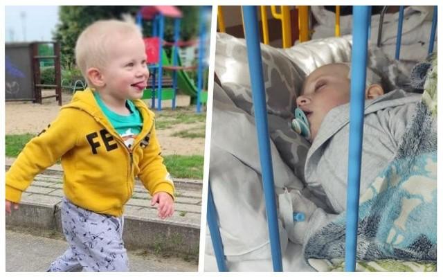 Szymon Berliński jeszcze kilka miesięcy temu biegał i bawił się, teraz walczy o życie z najcięższym z dziecięcych nowotworów - neuroblastomą. W niedzielę będzie okazja, żeby mu pomóc i dorzucić datek na leczenie chłopca.