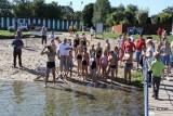 Pływacki maraton na zakończenie sezonu nad Jeziorem Gałęźnym