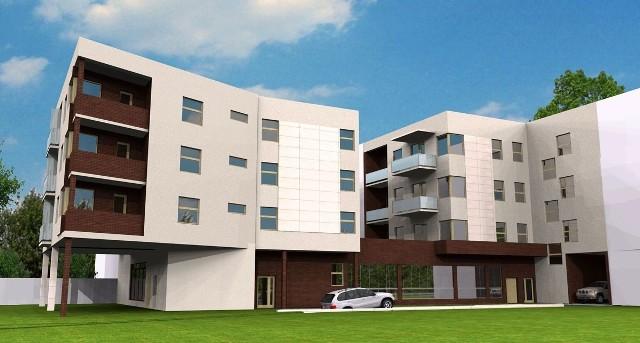 Wileńska 10Blok będzie miał dwie klatki, parter i trzy piętra, a także całkowite podpiwniczenie.