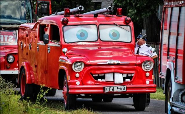 Tak było na Zlocie Pojazdów Pożarniczych w Główczycach w ubiegłym roku.