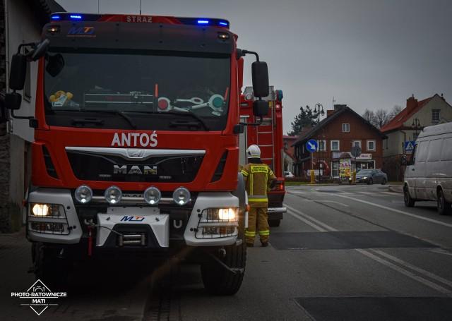 W sobotę po południu na ulicy Dziarnowskiej w Mogielnicy doszło do pożaru sadzy w kominie jednego z domów jednorodzinnych.