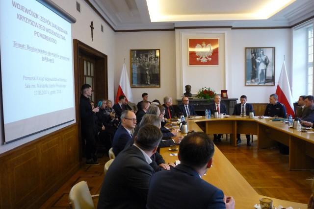 Spotkanie w sprawie bezpieczeństwa Pomorzan w przestrzeni publicznej