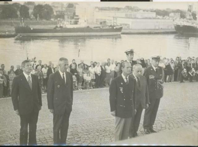 Książę Filip na Westerplatte – 1975 r.