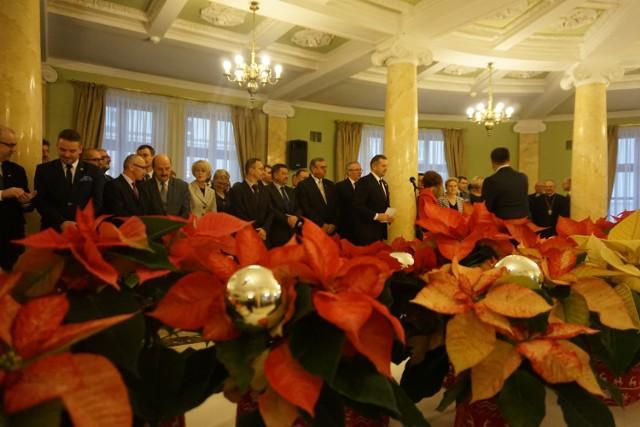 Spotkanie opłatkowe u nowego wojewody lubelskiego