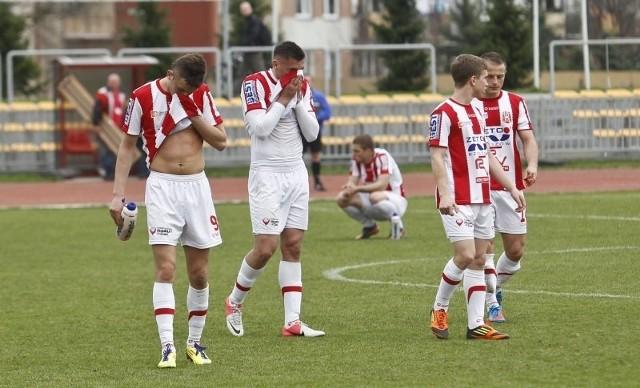 """""""Pasiaki"""" nadal nie strzeliły gola w rundzie wiosennej."""