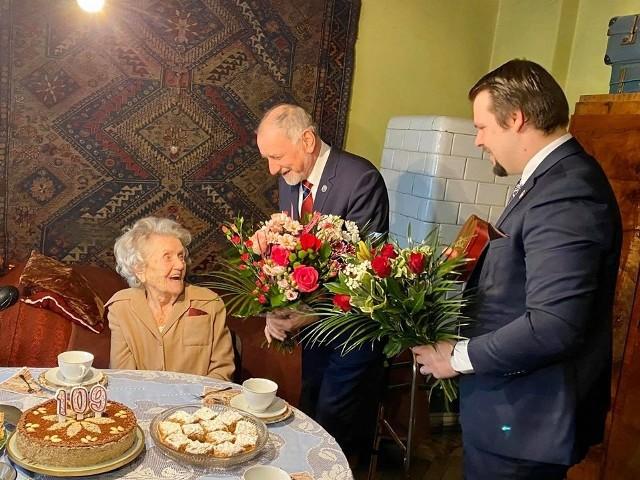 109. urodziny pani Wandy Szajowskiej