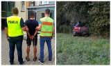 Pijany 20-latek potrącił policjanta i uciekł. Był poszukiwany za udział w bójce. Miał też zakaz prowadzenia pojazdów (zdjęcia)
