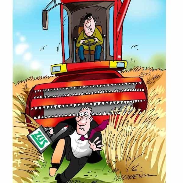 Z czyich pieniędzy wpłaca się odszkodowanie, jeśli rolnik ma wypadek? Oczywiście Kowalskiego.