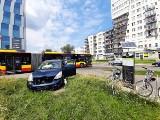 Kolejny wypadek na skrzyżowaniu Strzegomskiej i Śrubowej we Wrocławiu. Urząd poprawi oznakowanie