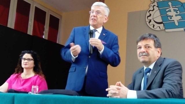 Wizyta marszałka Stanisława Karczewskiego w Gdyni.