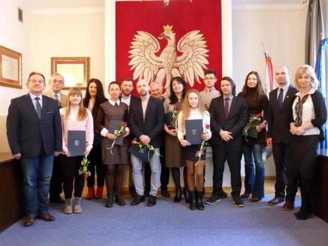 Nagrody wręczono w dziedzinach kultury i sportu