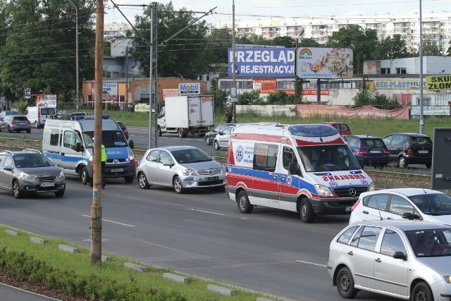 Wypadek na Legnickiej, Wrocław, 07.07.2016