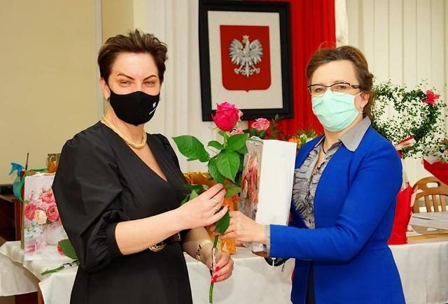 Gościem Marzeny Bernat była Poseł Agata Wojtyszek (z prawej).