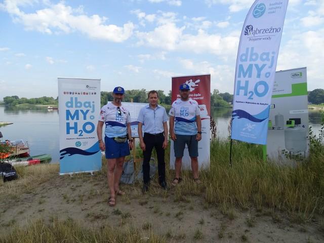 Do Chełmna dopłynęła wąbrzeska wyprawa kajakowa mająca za cel zwrócenie uwagi na konieczność ochrony wód