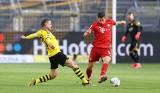 Bramka i kontrowersja z meczu Borussia Dortmund - Bayern Monachium. Co za strzał Kimmicha! [WIDEO]