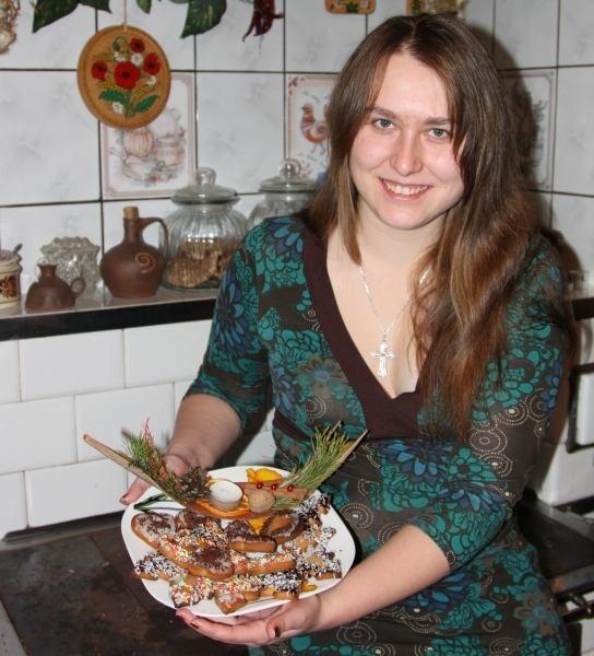 Ilona Gorek-Borkowska przygotowała dla najbliższych słodkie prezenty.