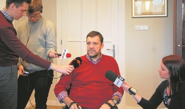 Paweł Parus, pełnomocnik marszałka ds. osób niepełnosprawnych, podkreśla zalety programu.