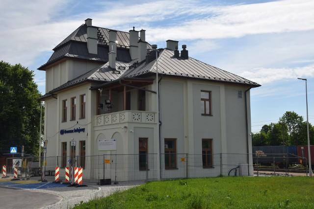 Prace budowlane na dworcu w Jastrzębiu zakończyły się.