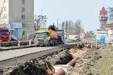 Krapkowice. Ruszył remont ul. Opolskiej. To odcinek drogi wojewódzkiej nr 415, który na czas robót został zamknięty