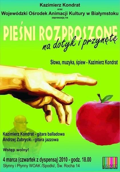 We czwartek 4 marca W białostockich Spodkach wystąpi Kazimierz Kondrat