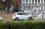 Kraków. Samochód wjechał w przystanek